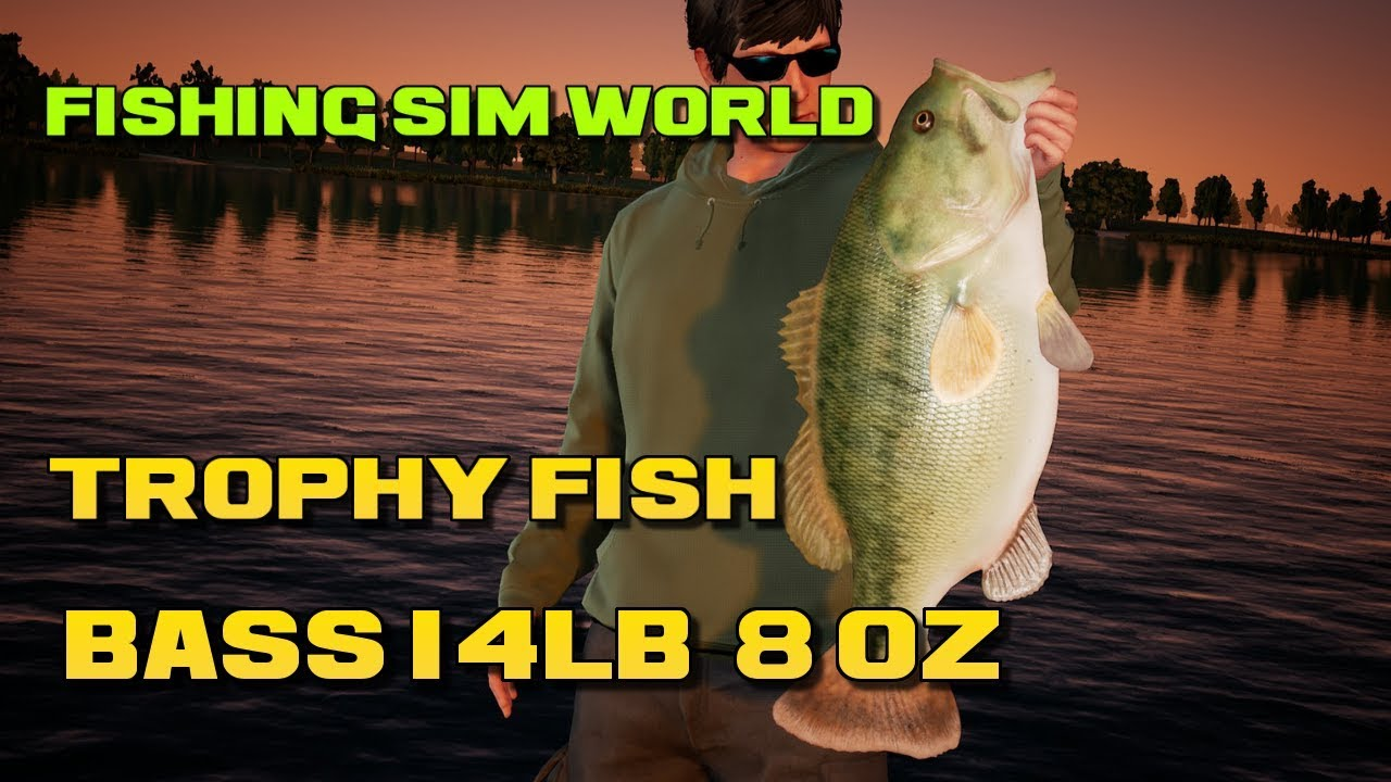 How Big Do The Bass Get? | Dovetail Games Forums