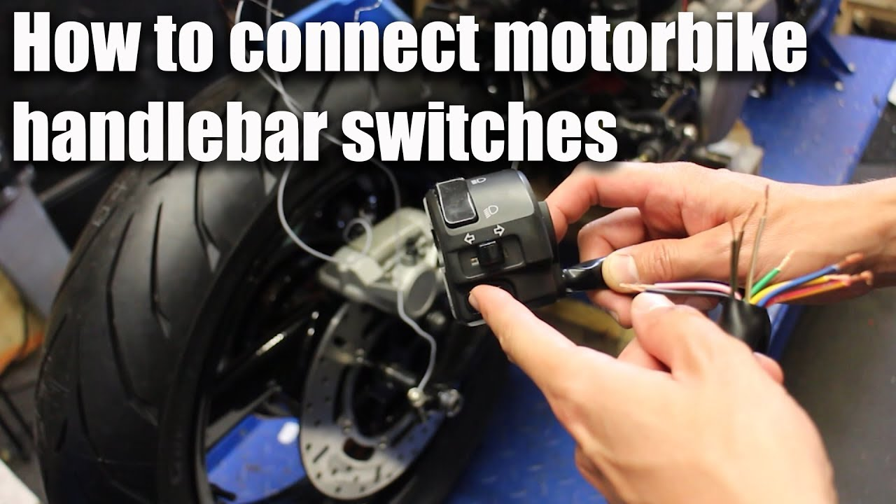 how to connect motorbike handlebar switches wiring part 4  [ 1280 x 720 Pixel ]