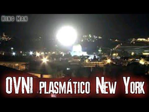 Nave de Plasma libera esfera en New York