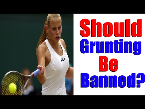 Thumbnail: Grunting In Tennis - Should It Be Banned?