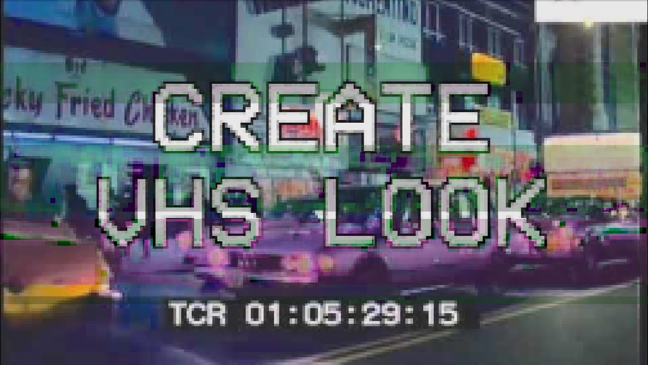Create VHS Look in Final Cut Pro X