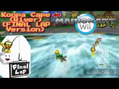 Mario Kart Wii Music: Koopa Cape (River) (GAME FINAL LAP Music) [FINAL LAP Version]
