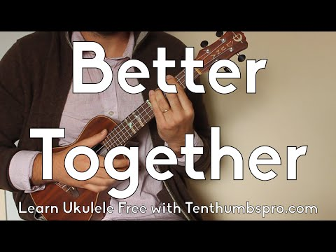 Better Together - How To Play Jack Johnson Ukulele Tutorial - With Play-A-Long and Tabs