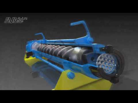 Multiphase Progressing Cavity Pump (exploded)