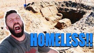 HOMELESS ON THE BEACH! *MTV CRIBS EDITION*