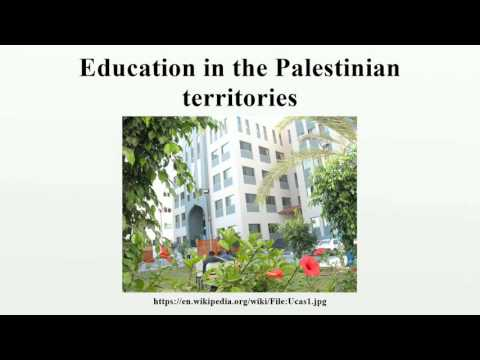 Education in the Palestinian territories