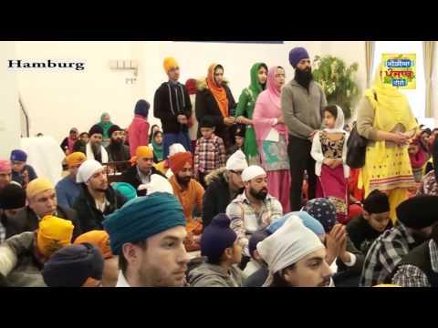 Guru Nanak Dev Ji Gurpurb Hamburg (Media Punjab Tv) 031215