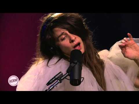 Brazilian Girls performing Bala Bala  on KCRW
