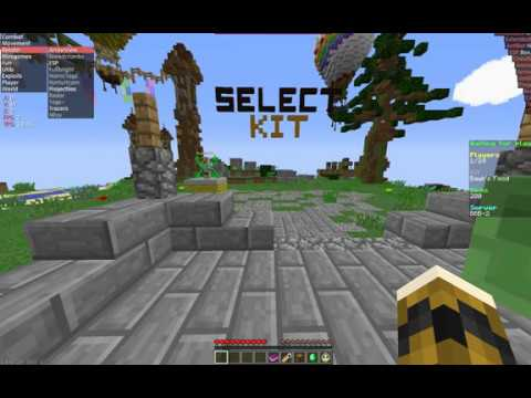 How to fly hack on mineplex micro battle tutorial wurst 1. 8 (with.