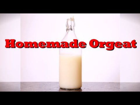 How To Make Quick And Easy Homemade Orgeat | Drinks Made Easy