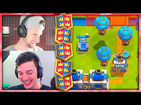 BALLOON PARADE - Clash Royale 2v2 - Nick & Molt