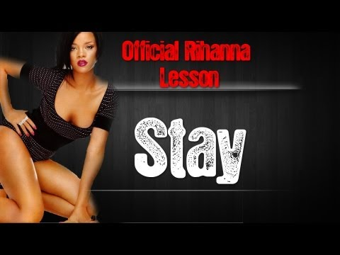 Rihanna Stay Chords Guitar Lesson | Beginner Easy Acoustic Tutorial Feat Mikky Ekko
