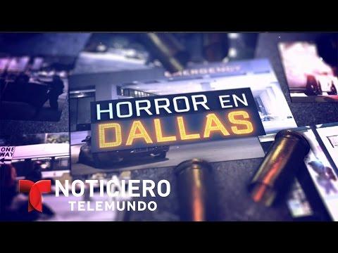 Luto en familia de policía hispano asesinado en Dallas | Noticiero | Noticias Telemundo
