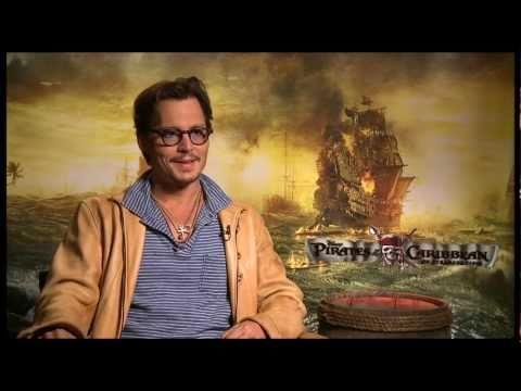 Interviews: Johnny Depp sera Jack Sparrow jusqu'à la mort