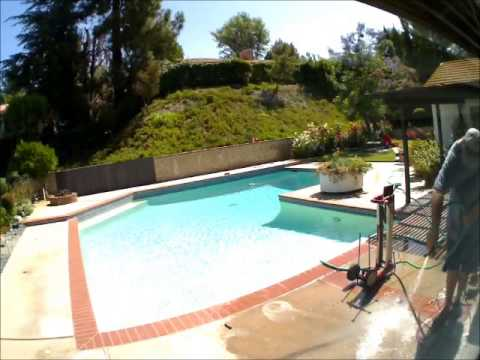 Life Saver Pool Fence Installation Time Lapse