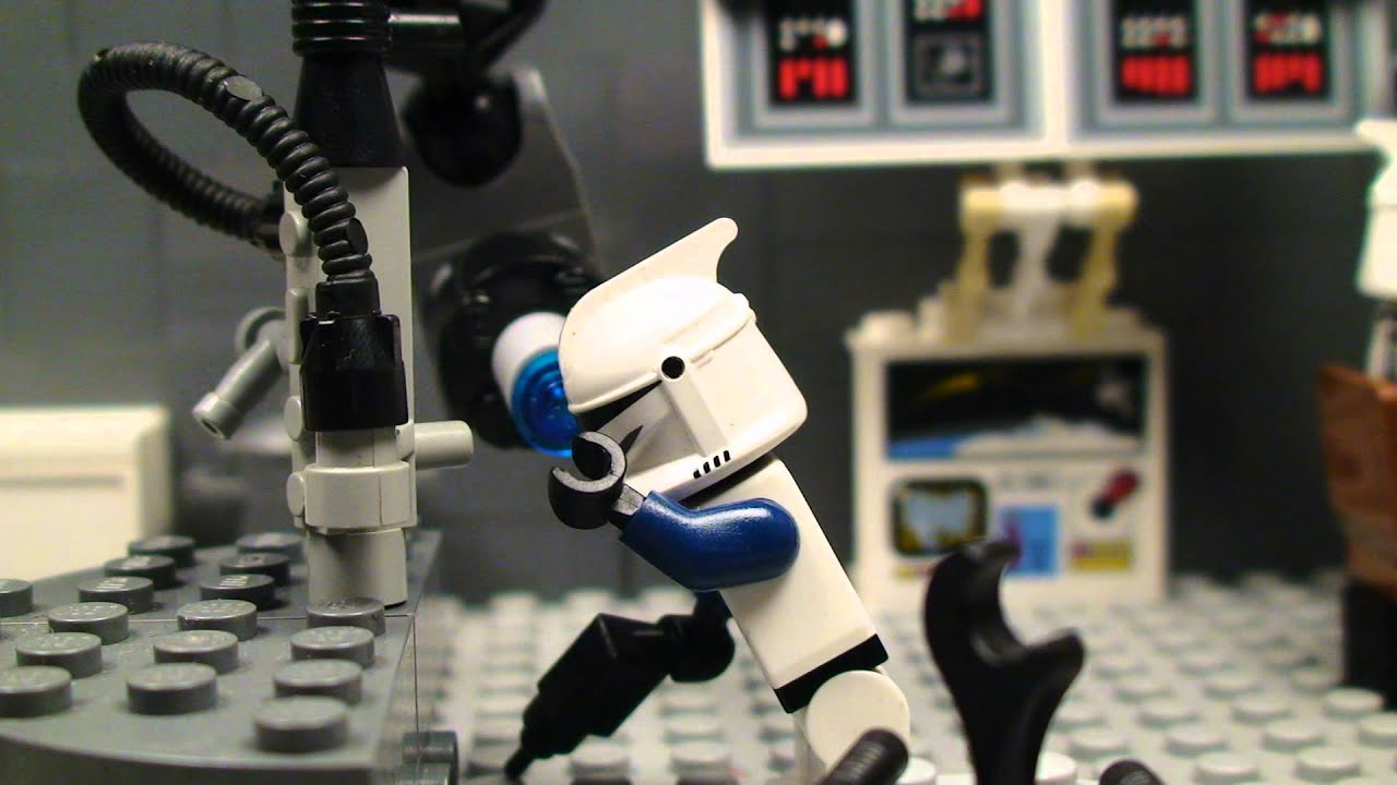 Lego star wars robot combat youtube - Robot blanc star wars ...