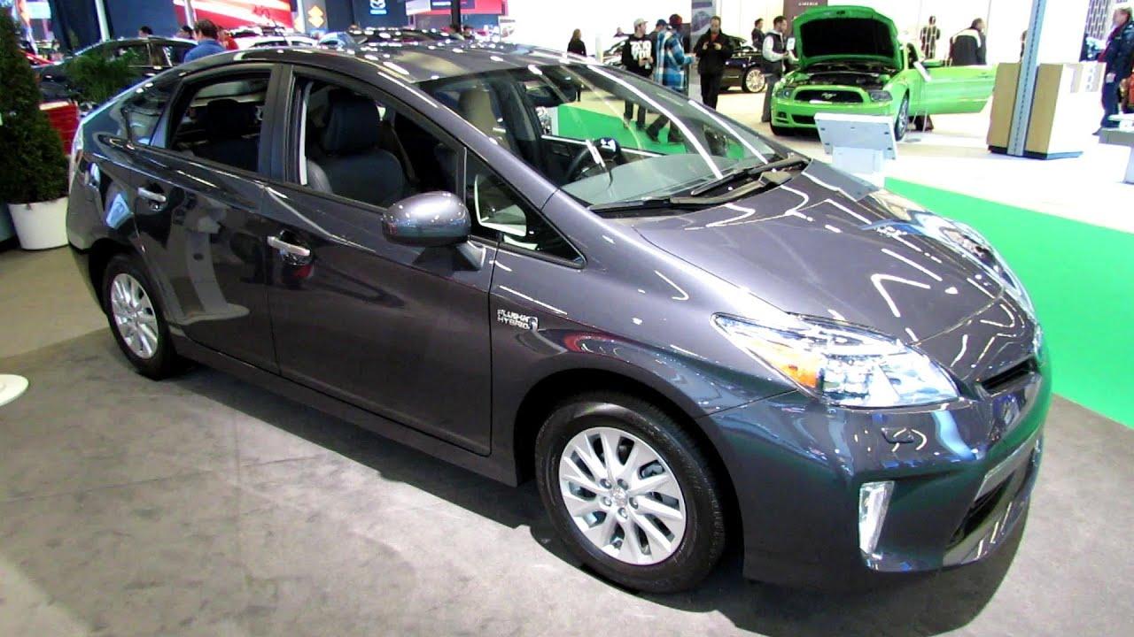 2013 toyota prius hybrid exterior and interior walkaround 2013 montreal auto show youtube