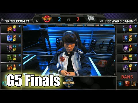 SK Telecom T1 vs Edward Gaming | Game 5 Grand Finals Mid Season Invitational 2015 | SKT vs EDG G5