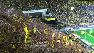 Stimmung Südtribüne: Deutscher Meister 2011 Borussia Dortmund vs. 1. FC Nürnberg 30.04. (BVB HD)