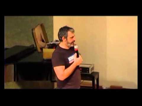 Ο Γιάννης Σερβετάς παρουσίασε στη Δράμα το ημερολόγιο - ανεκδοτολόγιο 2015