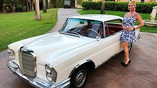 SOLD 1963 Mercedes Benz 220SE/b W111 Coupe, for sale by Autohaus of Naples 239-263-8500