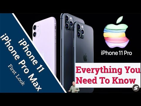 iPhone 11 & iPhone 11 Pro Max : Everything You Need To Know | WWDC 2019