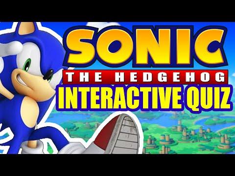Sonic The Hedgehog Interactive Quiz Youtube