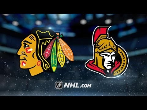 CHICAGO BLACKHAWKS VS OTTAWA SENATORS HIGHLIGHTS 3/16