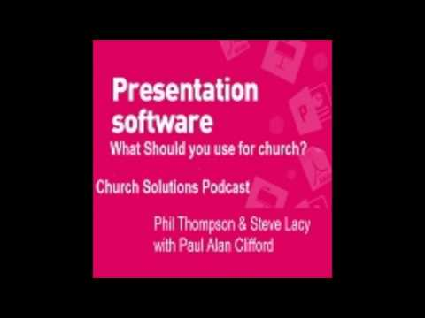 What's The Best Church Presentation Software?