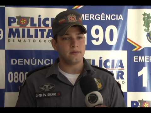 A terceira companhia da polícia militar em confresa tem novo comandante