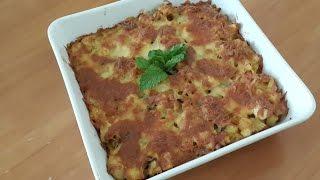 Gratin au poulet & pommes de terre/Chicken & potatoes gratin/غراتان الدجاج و البطاطا