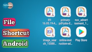 Create File Shortcut (PDF, Photo,Video,MP3 etc) on Your Android Phone | Any File Shortcut