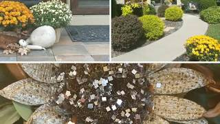 Fall Entry Tour/ Outside & Inside/ Rustic Glam Decor