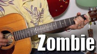 The Cranberries -Zombie  - Super Easy Beginner Song Guitar Tutorial