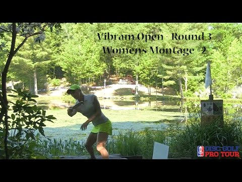 2016 Vibram Open - Catrina Allen, Paige Pierce, Sarah Hokom, Val Jenkins Montage #2 - Rnd3