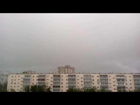 Raining in kazan Russia