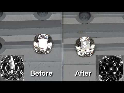 What are Clarity Enhanced Diamonds? Clarity Enhancement: Before and After