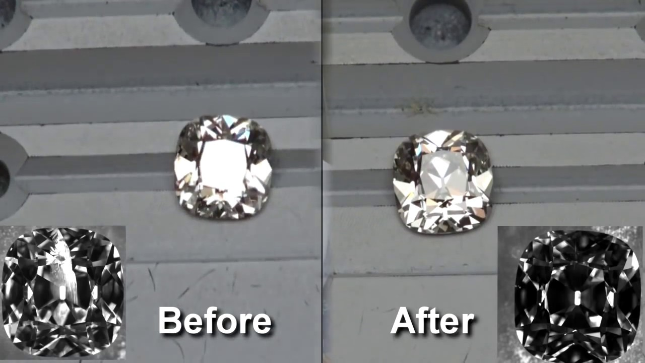 What Are Clarity Enhanced Diamonds Enhancement Before And After