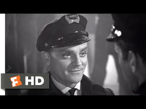The Roaring Twenties (1939) - The Boat Raid Scene (4/8) | Movieclips