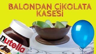 Balonla Çikolata Kasesi Yapımı -DIY