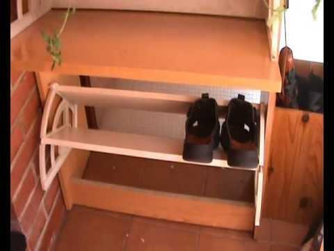 Reparaci n en un mueble organizador de calzado 1 de 3 for Mueble organizador