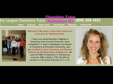 AP Chemistry, Honors Chemistry and Physics Tutor in South Brunswick NJ
