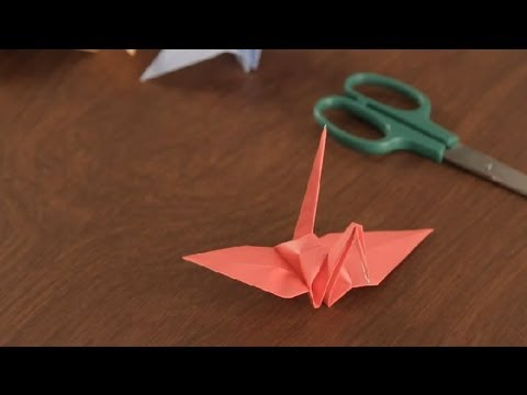 Papercraft How to Make an Origami Crane : Simple & Fun Origami
