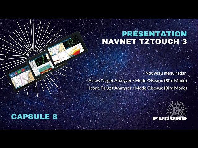 Écran Multifonction NavNet TZtouch 3 | Menu Radar, Nouveautés Target Analyzer et Mode Oiseaux