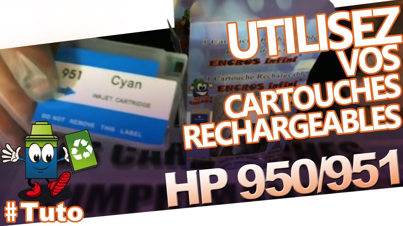 hp 950 et 951 rechargeables comment les utiliser et les recharger youtube. Black Bedroom Furniture Sets. Home Design Ideas