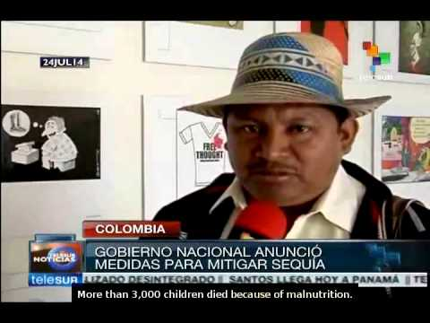 Colombia: Indigenous people warning about drought in La Guajira