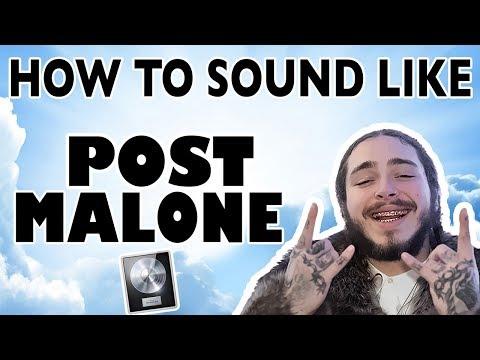 How to Sound Like POST MALONE! - Logic Pro X - Beginners Harmonization Tutorial