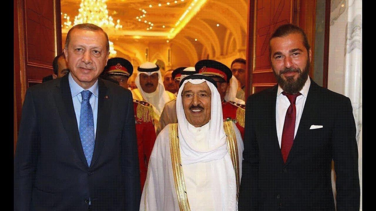 مسلسل ارطغرل صور لبعض الممثلين في حياتهم الخاصة ومع اردوغان وامير الكويت Youtube