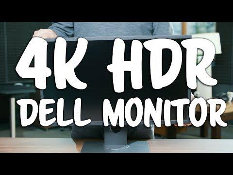 Dell UP2718Q 4K HDR True 10bit  DCI P3 color displayfor Content Creators  blog