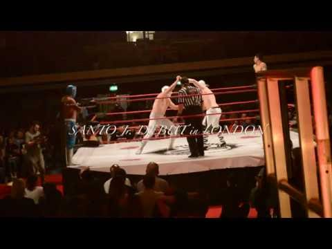 SANTO JR DEBUT !!! en LONDRES EXCLUSIVA TV SHOW LA ARENA #Hightlights